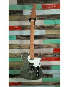 Aria Nashville Electric Guitar, 615 MK2 BKDM, Black Diamond