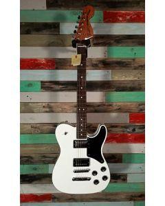 Fender MIJ Troublemaker Telecaster RW Electric Guitar, Arctic White,  530-0100-380