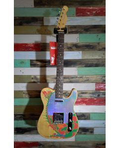 Fender Artist Series Jimmy Page Telecaster Electric Guitar, Natural, 014-6230-721