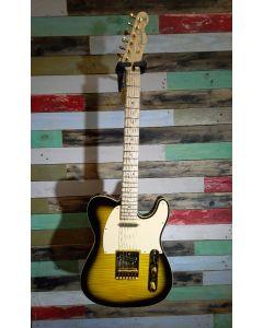 Fender Richie Kotzen Tele MN Electric Guitar, Brown Sunburst, 025-5202-532