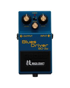 Boss Waza Craft Custom Blues Driver Pedal, BD-2W