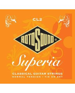 Rotosound CL2 Superia Classical Normal Tension Set Tie End