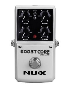 NUX Core Series Boost Pedal BOOST CORE DELUXE, BOOSTCCLX
