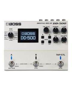 Boss Digital Delay Guitar Pedal, DD-500