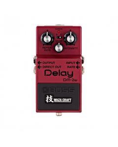 Boss Waza Craft Custom Delay Guitar Pedal, DM-2W