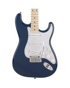 Fender Made in Japan Hybrid Stratocaster Indigo Electric Guitar, 599-1002-388