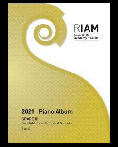 RIAM Piano Album 2021 Grade 3 RIAMP321