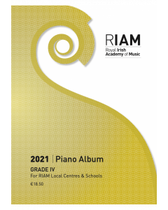RIAM Piano Album 2021 Grade 4 RIAMP421