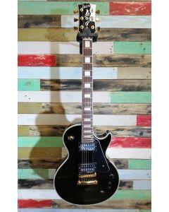 Burny RLC-75S 2011 BLK Electric Guitar Black