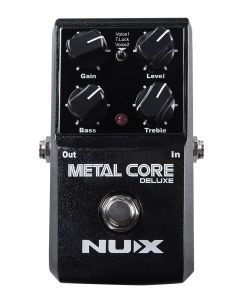 NUX Core Series Distortion Pedal METAL CORE DELUXE, METCDLX