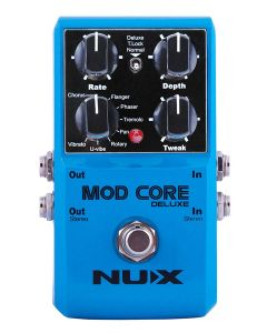 NUX Core Series Modulation Pedal MOD CORE DELUXE, MODCDLX