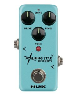 NUX Mini Core Series Overdrive Pedal MORNING STAR OVERDRIVE, NOD-3