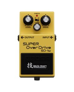 Boss Waza Craft Custom Super Overdrive Pedal, SD-1W