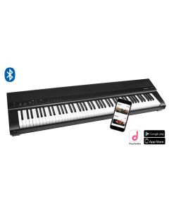 Medeli Performer Series Digital Stage Piano, SP201+/BK - Black