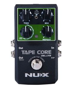 NUX Core Series Tape Echo Pedal TAPE CORE DELUXE, TAPECDLX