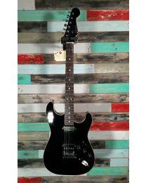 Fender MIJ Modern Strat HH Electric Guitar, 528-0400-306, Black