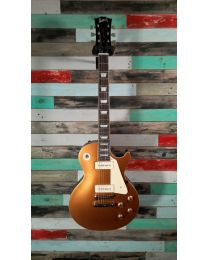 Burny Les Paul RLG-60P Electric Guitar, Vintage Gold