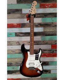 Fender Player Stratocaster HSS PF Electric Guitar, 3 Colour Sunburst, 014-4523-500