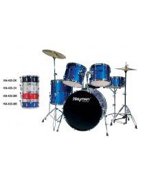 Hayman Pro Series 5 Piece Drum kit HM-400