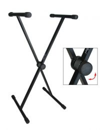 Boston Single Braced Keyboard Stand KS-105