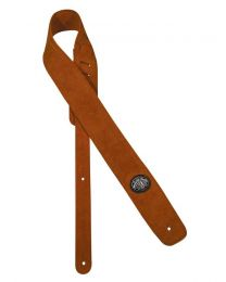 Gaucho Padded Suede Guitar Strap, Light