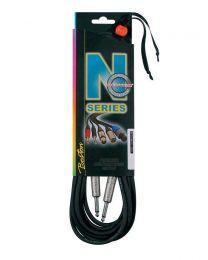 Boston N Series Neutrik Instrument Cable - Straight Jacks
