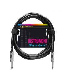 Boston Instrument Cable / Lead - 2 Metal Jacks - 6 Metre