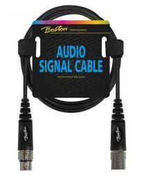 Boston audio signal cable, XLR female to XLR male, 6.00mtr