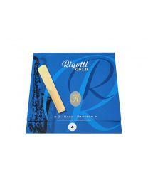 Rigotti Baritone Saxophone Reeds - 3 Pack - 4.0 RGB40/3