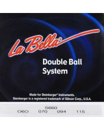 LaBella Double Ball End System String for Electric Bass S660