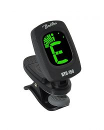 Boston BTU150 Clip on Chromatic Tuner - Guitar Tuner - Bass tuner - Ukulele Tuner