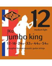 Rotosound Acoustic Guitar Strings Jumbo King - Phosphor Bronze - Various Gauges