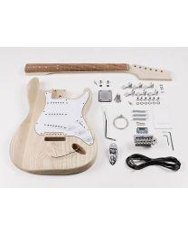 Boston Guitar Assembly Kit - Electric Strat Model - DIY Build Guitar - Strat KIT-ST-35