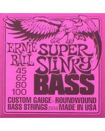 Ernie Electric Super Slinky Bass Strings 45-100