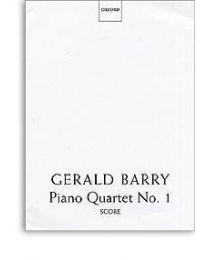 Gerald Barry Piano Quartet No1 Score