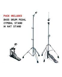 Hayman Complete Drum Hardware Pack