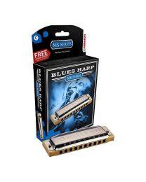 Hohner 532 Blues Harp MS-Series Harmonica (D Key)