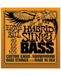 Ernie Ball Hybrid Slinky Round Wound Bass Guitar Strings