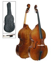 Schneider All Solid Double Bass - Antique Finish