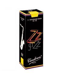 Vandoren Reeds Tenor Saxophone 2.5 ZZ Jazz (box of 5)