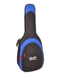 Boston 15mm Padded Deluxe Acoustic Gig Bag - Black & Blue