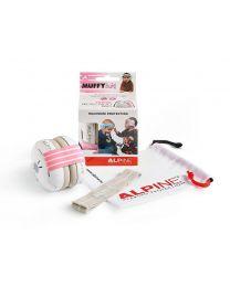 Alpine Muffy Baby earmuff /hearing protection - pink