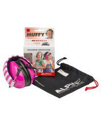 Alpine Muffy earmuff /hearing protection - pink