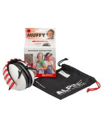 Alpine Muffy earmuff /hearing protection white