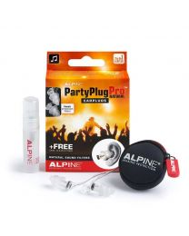 Alpine PartyPlug Pro earplugs /hearing protection for music lovers /party goers