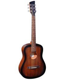Brunswick Acoustic Travel Guitar, BT200TB - Tobacco Burst