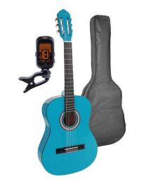Salvador Kids Series Classic Guitar 3/4 Scale Blue CG-134-BU
