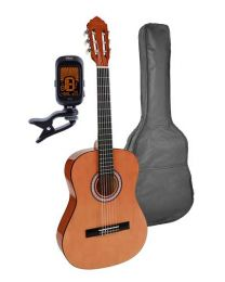 Salvador student Series Classic Guitar 3/4 scale pack Natural SC-134