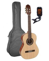 Classical Guitar Pack 1/2 Junior Model with Bag and Tuner CS-212