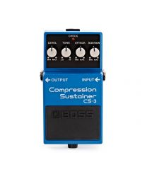 Boss Compression/Sustainer Guitar Pedal, CS-3
